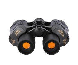 Outdoor Telescoop 60x60 Coated Optics Dag/nachtzicht Werken Jacht Militaire Hoge Verrekijkers Anti-fog HD Outdoor