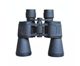 LumiParty 10X50 Krachtige Verrekijker Groothoek Zoom Porro Prisma Telescoop Voor Outdoor Sightseeing Jacht