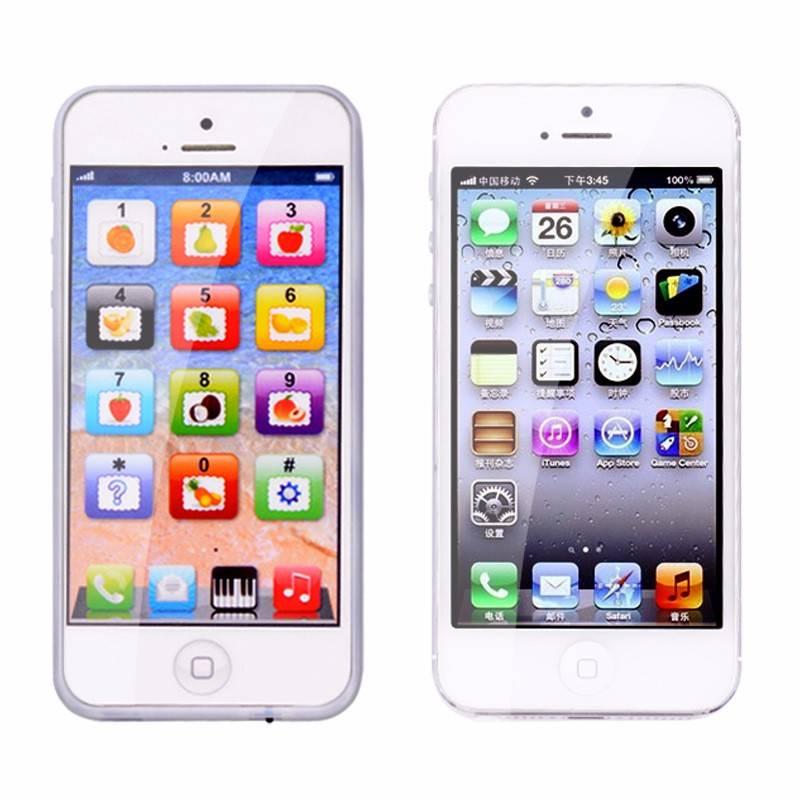 NieuweKids Kind YPhone Muziek Mobiele Telefoon Studie EducatiefSpeelgoed Voor Kinderen nieuwjaar Ges