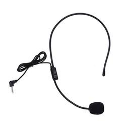 MyXL Hoofd gemonteerde headset microfoon Draagbare Lichtgewicht Wired 3.5mm Plug Gids Lezing Toespraak Headset mic voor onderwijs vergadering