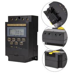 MyXL KG316T-II Digitale Timer Controller AC220V 25A Din Rail LCD Digitale Programmeerbare Elektronische Tijdschakelaar