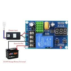 MyXL XH-M604 Acculader Controle Module DC 6-60 V Opslag Lithium Batterij Opladen Schakelaar Bescherming Boord