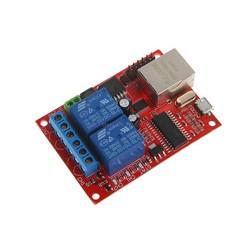 MyXL Voor 1 ST LAN Ethernet 2 Manier Relais Board Vertraging Schakelaar TCP/UDP Controller Module Webserver