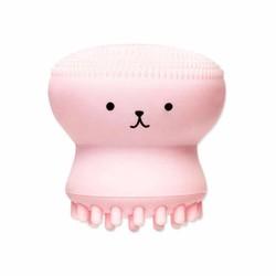 MyXL Weinig Leuke Kwallen Wasborstel Exfoliërende Gezicht Cleaner Massage Zachte Siliconen Facial Borstel Scrubber Diepe Porie Borstel