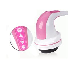 4 Hoofd Infrarood Elektrische Lichaam Afslanken Massager Anti-cellulitis Machine Glad hoofd Stimulator Verminderen Geaccumuleerde Vet 220 V 28 W