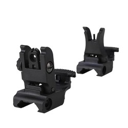 MyXL Overgang Backup Iron Sight Rapid Rifle RTS Sight RL27-0001 Plastic Front Rear Sight 45 Graden Offset Rapid AR15 AR 15 AR-15