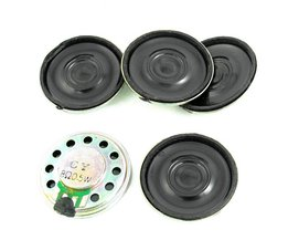 5 Stks 0.5 W 8 Ohm 28mm Diameter Ronde Magneet Speaker Luidspreker Hoorn