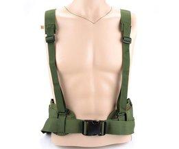 Tactische Riem mannen Leger Speciale Molle Handig Gordel EAS Verstelbare Zachte Gewatteerde Taille Riem voor Duty (Militaire Groen)