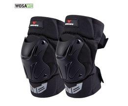 WOSAWE 1 Paar Volwassen's Tactical Beschermende Knie Pads Extreme Sport Knie Protector Ski motorfiets Veiligheid kniebrace PE shell, schuim