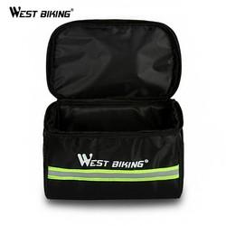 MyXL WEST FIETSEN Fietsen Bike Bag Fiets Voor Bag Reflecterende Mtb Fietsen Mand Pannier Frame Tube Fietsen Voor Stuurtas