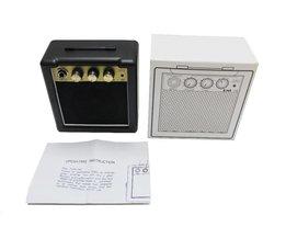 Gratis Schip. RMS-10 3 W DraagbareMini Gitaar Versterker/Luidspreker 9 V Batterij voeding draagbare mini gitaar versterker