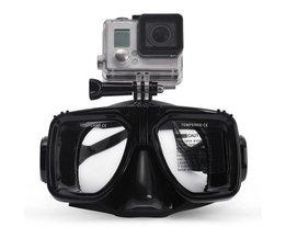 Accessoires Duikbril Mount Zwemmen Bril voor Actie Camera SJCAM SJ4000/5000/6000 Xiaomi yi