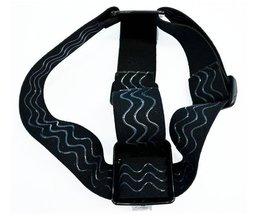Husiway Head strap Voor alle Gopro Hero4 3 + 3 2 SJ4000 SJ5000 met anti-slide lijm hetzelfde als originele een