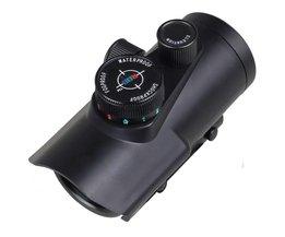 Tactische Hunting Holografische Riflescope 30mm Rood Groen Blauw Dot Sight Richtkijker W/Mount RGB Fit 20mm Picatinny En Weaver Rail