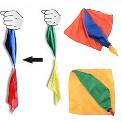 MyXL 22 cm * 22 cm Sjaal Voor Magic Trick Door Mr Tricks Joke Props Gereedschap Speelgoed Veranderen Kleur Kids kinderen Geschenken