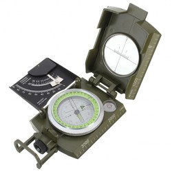 MyXL Professionele Militaire Leger Metal Waarneming Kompas clinometer Camping