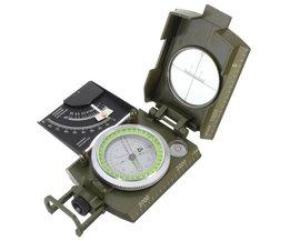Professionele Militaire Leger Metal Waarneming Kompas clinometer Camping