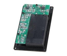 Yibuy Elektrische Viool Silent EQ Pickup Piëzo met Hoofdtelefoon en Plug Gat Kabel Set
