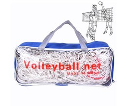 1 Set Voor Indoor Training Duurzaam Concurrentie Officiële PE 9.5 M x 1 M Volleybal Net met 1 Pouch
