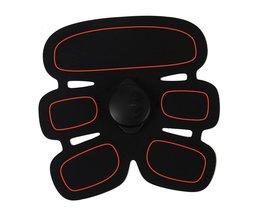EMS Elektrische Lichaam Massager Exerciser Fitness Stimulator Spier Trainer Behandeling Stimulator Abdominale Arm Sport Spieren Tool 20