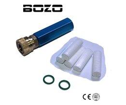 PCP HANDPOMP Luchtcompressor Eenvoudige Refill Olie-water Separator met Vrouwelijke Snelsluiting en Gratis Filter Element M10 * 1 Threads