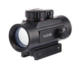 Luneta Para Richtkijkers Telescopische Sight Red Green Dot 11mm/20mm Pistol Holografische Optic Bezienswaardigheden Voor Airsoft Air Guns