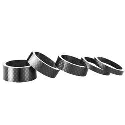 MyXL 5 Stks Koolstofvezel Wasmachine Fiets Headset Stem Spacers Reparatieset Voor Fiets Fix Refit Outdoor Sport Fiets Deel