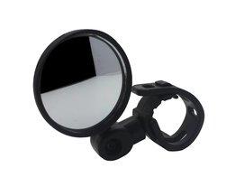 1 Paar 360 draaien Fiets Achteruitkijkspiegel Glas Spiegel Bike Fietsen Breed Bereik Back Sight Reflector Hoek Verstelbare Stuur Spiegels