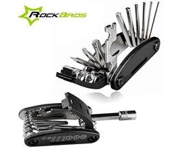 ROCKBROS Mini Multifunctionele Fiets Reparatie Stand Tool 16 in 1 Kit Mountain Gereedschap Bike Fietsen Vouwen Schroevendraaier Inbussleutel