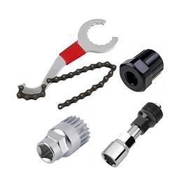 MyXL Mountainbike Reparatie Tool Kits Fietsketting Removel/Beugel Remover/Freewheel Remover/Crank Puller Remover buitensporten