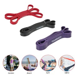 MyXL TOMSHOO 3 stks/set Fitness Banden Rubber Pull Up Bands Gym Krachttraining Apparatuur 208 cm Power Latex Band Loop Strap