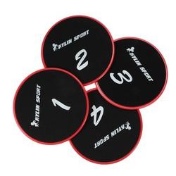 MyXL Kylin sport 4 stks fitness zweefvliegen disc oefening schuifplaat voor gym buikspieroefening apparatuur zweefvliegen disc fitness gereedschap