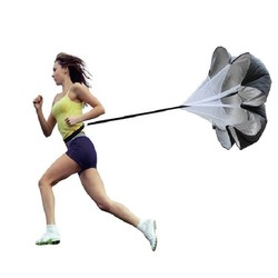 "MyXL 56 ""Speed Resistance Running Training Parachute Running Chute Voetbal Oefening + Tas Verhogen Snelheid Voetbal Apparatuur"