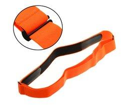 Oranje Elastische Borst Riem Band voor Wahoo Garmin Polar Sport Running Hartslagmeter voor Bluetooth 4 0