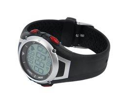 3 Meter Waterdichte Hartslagmeter Sport Fitness Horloge Favor Outdoor Fietsen Sport Draadloze Met Borstband Hartslagmeter