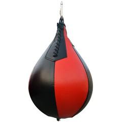 MyXL 1 pcBoksen Peer PU Swivel Punch Bag Ponsen Oefening Speedball Speed Fitness Bal Crossfit Apparatuur Rode & zwart