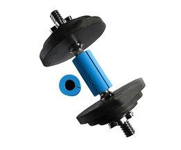 1 Paar Barbell Grip Dikke Bar Handgrepen Siliconen antislip Beschermen Pad Pull Up Grips Ondersteuning Blauw Kleur