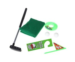 Potty Putter Toilet Golf Game Mini Golf Set Wc Putting Green Novelty Game Speelgoed Cadeau Voor Mannen en Vrouwen