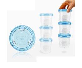 Babyvoeding Opslag Set Melk Vruchtensap Opslag Seal Behoud Cups Doos Cup Borst Melkpoeder Doosjes 180 ml