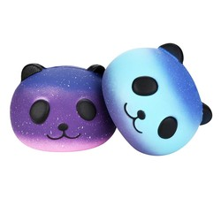 MyXL MUQGEW grappig 2 STKS Galaxy Panda Leuke Scented Squishies Trage Stijgende Zachte Squeeze Charms Speelgoed Antistress speelgoed Jouet Enfant