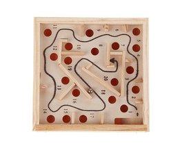 Smart Puzzel Speelgoed Houten Labyrinth Balance Board Game Kinderen voor Onderwijs Xmas Festival