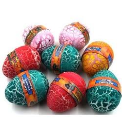 MyXL 1 stks Big Size Kleurrijke Dinosaurus Eieren Uitkomen Groeiende Dinosaurus Kerstballen voeg Water Groeien Grappig Speelgoed Kinderen KidMagic Ei H