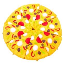 MyXL 11 cm Mini Yummy Pizza Squishy Trage Stijgende Crème Scented Charm Stress Reliever Speelgoed Squeeze Speelgoed Sleutel Strap Nice