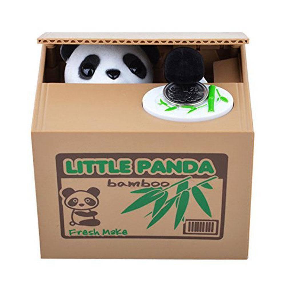 Mischief Saving Box Little Kat Stelen Geld Speelgoed Grappige Dieren Kat Automatische Elektrische St