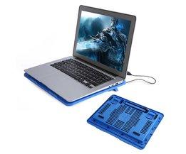 "USB Laptop Cooler Stand Base Cooler Cooling Pad voor 14 ""Of Hieronder Notebook Cooling Pads Fans <br />  YOSOO"
