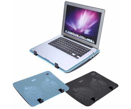 "Super Stille Laptop Koeler Cooling Pad Base Verstelbare Speed USB 2 Fans Stand voor 12 ""-16"" Notebook <br />  YOSOO"