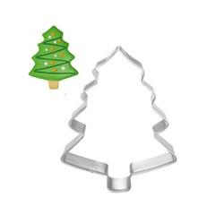 MyXL Kerstboom Cookie Tool Cutter Mould Biscuit Druk Icing Set Cake Stencil Rvs Fondant Dessert Decoratie <br />  Lephan