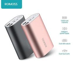 MyXL ACE 10000 mAh Dual USB Uitgangen Aluminiumlegering Externe Batterij Power Bank Voor iPhone 7 7 plus Tabletten Smartphone <br />  ROMOSS