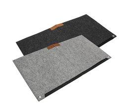 Vergrendeling Rand Muismat Grote Grey Laptop Toetsenbord Mat Computer Bureau Tafel Gaming Muizen Pad Beschermen Pols Warmte Mousepad <br />  S SKYEE