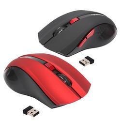 MyXL Ergonomische Optische Kantoor 2.4G Draadloze Gaming Muis Muizen Verstelbare 2400 DPI met 6 Knoppen voor Laptop Notebook Computer <br />  HXSJ